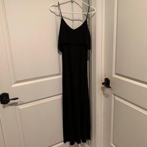 Tobi Black Maxi Dress XS